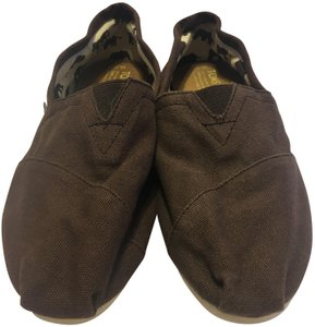 TOMS brown Flats