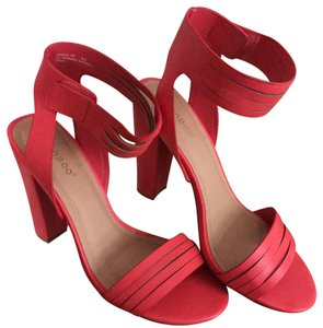 Bamboo Red Sandals