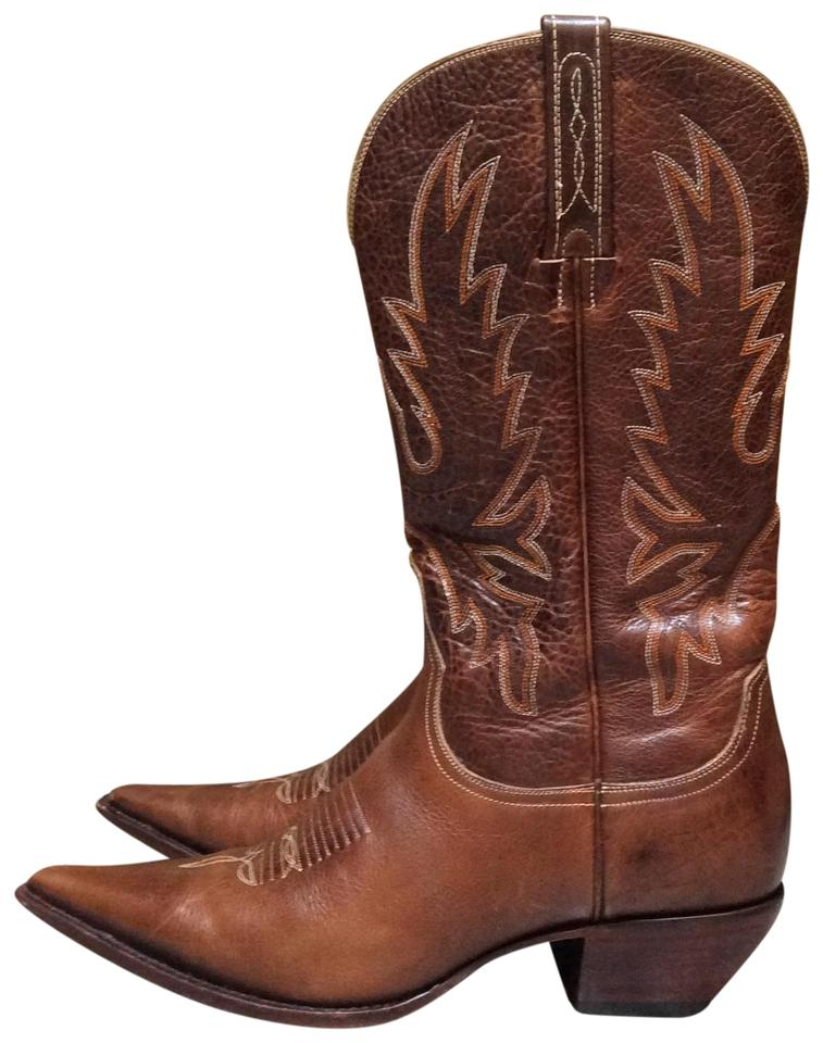 Lucchese Brown Brown Lucchese Charlie One Horse Boots/Booties f6edb1