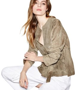 Vince tan taupe Leather Jacket