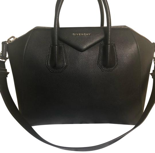 5025c565b6 Givenchy Antigona Medium Black Leather Satchel - Tradesy