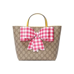 c68a7b6f358 Gucci Kids Children s Gg Supreme Check Beige Canvas Tote - Tradesy