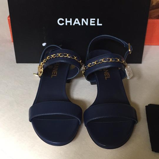 Chanel navy Sandals Image 2