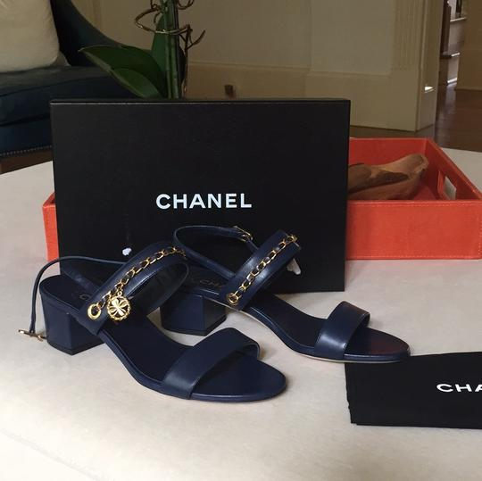 Chanel navy Sandals Image 3