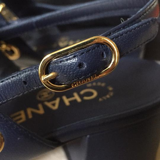 Chanel navy Sandals Image 5