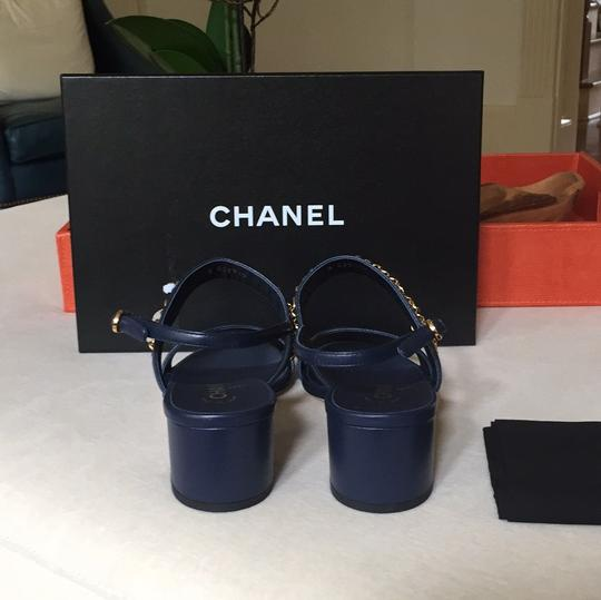 Chanel navy Sandals Image 7