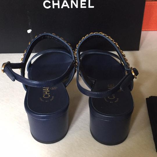 Chanel navy Sandals Image 8