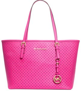 Michael Kors Tote in Hot Pink, Neon Pink