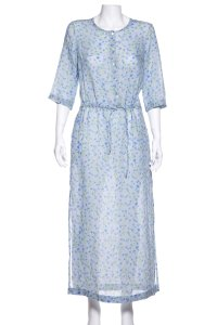 Blue Maxi Dress by Massimo Alba