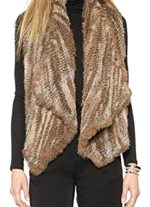 Alice + Olivia And Fur Fur And Vest