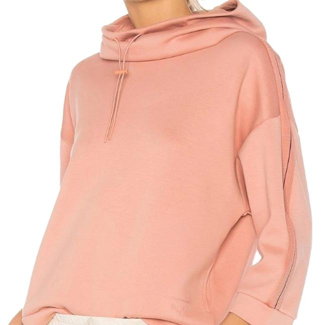 Item - Funnel Neck Hoodie Cameo Brown Sweater
