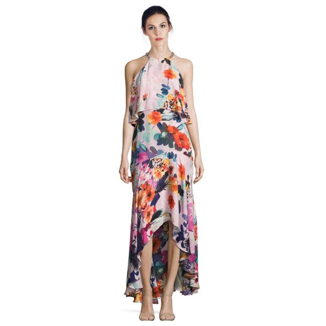 Preload https://img-static.tradesy.com/item/23871050/parker-multicolor-floral-halter-long-cocktail-dress-size-2-xs-0-0-650-650.jpg
