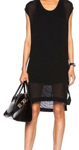 Helmut Lang Swift Sheer Tunic Dress