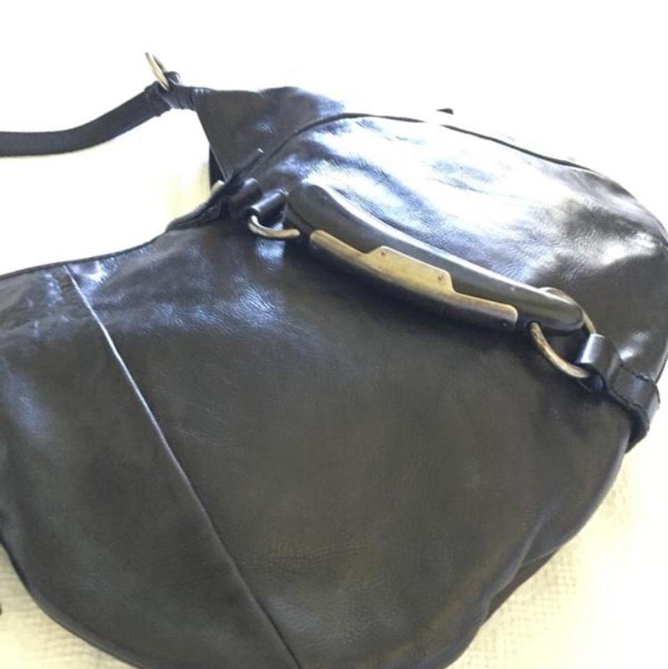 Hobo Ornamental Black With Leather Bag Laurent Horn Saint Y6vERxq