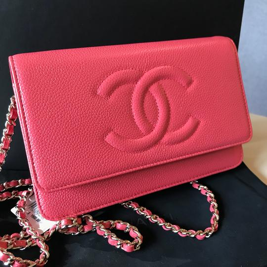 Chanel Clutch Woc Timeless Woc Wallet On Chain Cross Body Bag Image 11