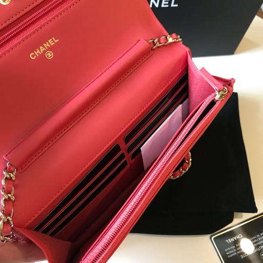 Chanel Clutch Woc Timeless Woc Wallet On Chain Cross Body Bag Image 9