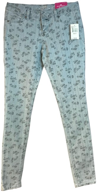 Almost Famous Skinny Pants Blue Image 0