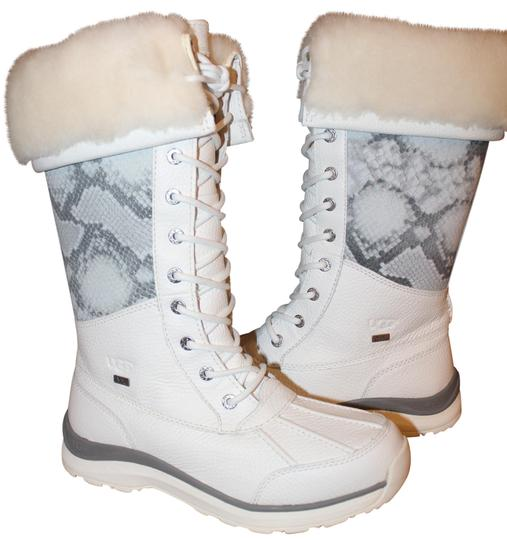 Preload https://img-static.tradesy.com/item/23871742/ugg-australia-white-adirondack-tall-leather-snow-bootsbooties-size-us-8-regular-m-b-0-3-540-540.jpg