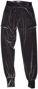 Laina Rauma Velvet Lounge Matching Set Set Athletic Pants Grey/Silver