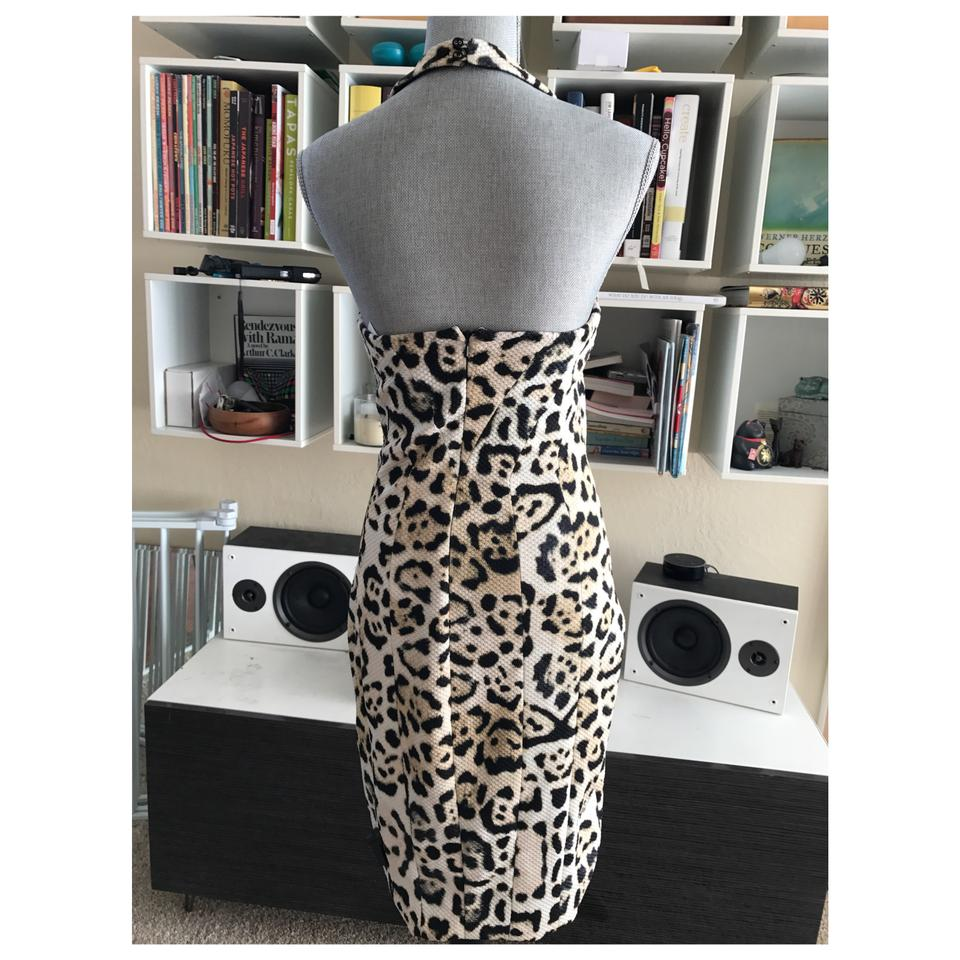 Dress Out Leopard Midi Print Night Furstenberg Halter Neck von Diane HxqgwzZg