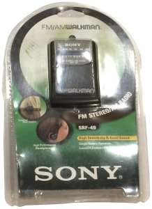 Sony Sony Walkman SRF 49 - Personal radio w/ headphones