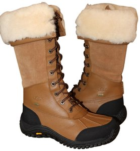 2673987f0c0 UGG Australia Otter Brown Adirondack Tall Leather Snow Boots/Booties Size  US 9.5 Regular (M, B) 24% off retail