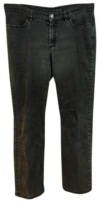 Item - Gray Light Wash Stretchy Cotton 40 Straight Leg Jeans Size 33 (10, M)