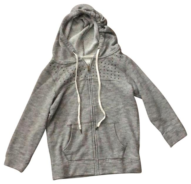 Preload https://img-static.tradesy.com/item/23872171/american-eagle-outfitters-gray-bronze-studded-sweatshirthoodie-size-0-xs-0-1-650-650.jpg