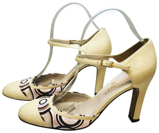 Chanel Christian Louboutin beige Pumps Image 0