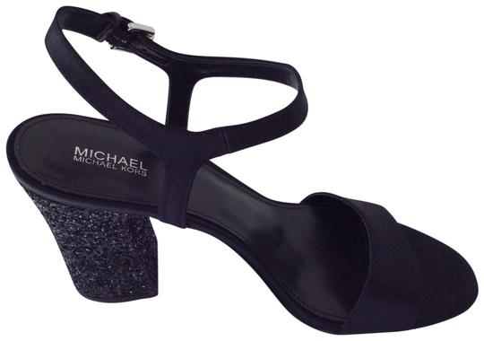 Michael Kors Mk Dress Mk Make Dress Black Sandals Image 0