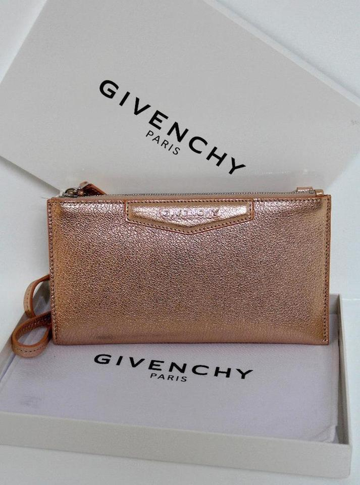 Grained Messenger Pink Bag Antigona Cross Gold Body Wallet Leather Rose Metallic Givenchy New HExYXE