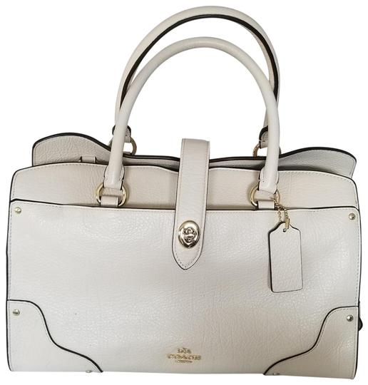 Coach Satchel in White Image 0