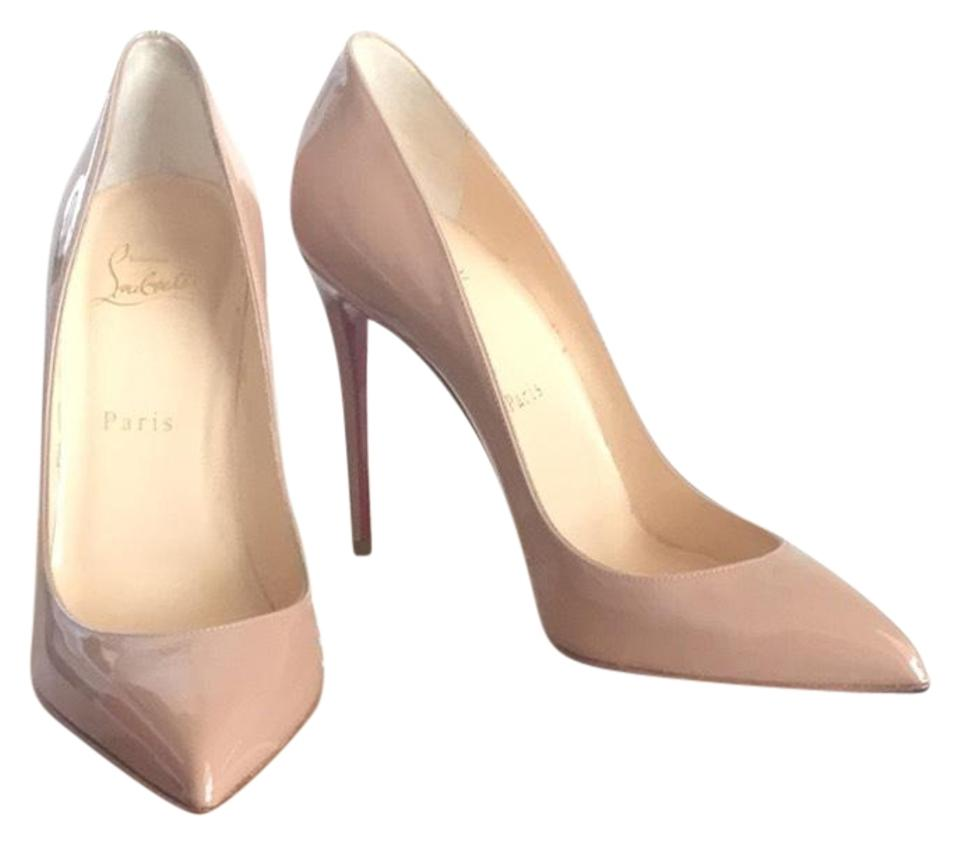 c6bfdc3b904 Christian Louboutin Beige Nude Pigalle Follies 100 Pumps Size EU 38.5  (Approx. US 8.5) Regular (M, B) 39% off retail
