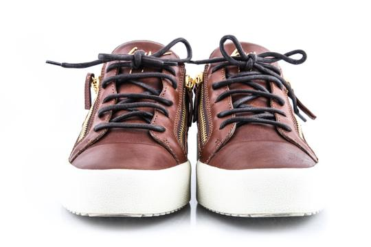 Giuseppe Zanotti Brown London Low Cont Sole Shoes Image 1