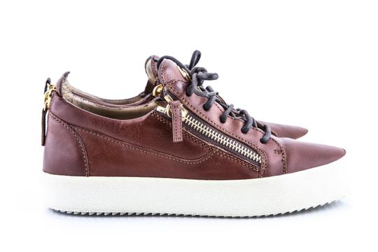 Giuseppe Zanotti Brown London Low Cont Sole Shoes Image 5