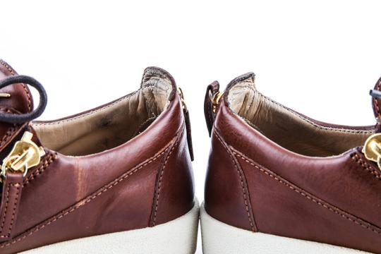 Giuseppe Zanotti Brown London Low Cont Sole Shoes Image 7