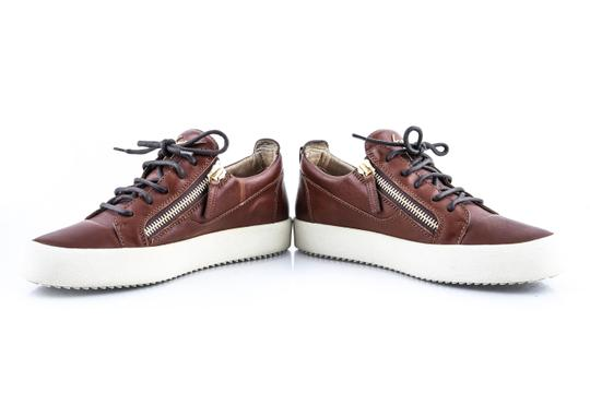 Giuseppe Zanotti Brown London Low Cont Sole Shoes Image 8