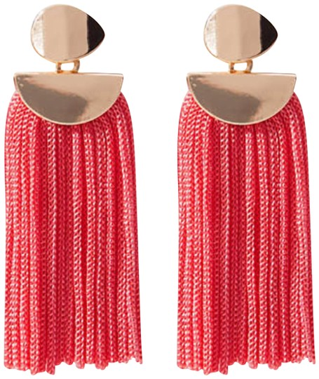 Preload https://img-static.tradesy.com/item/23873050/ann-taylor-loft-geometric-tassel-earrings-0-1-540-540.jpg