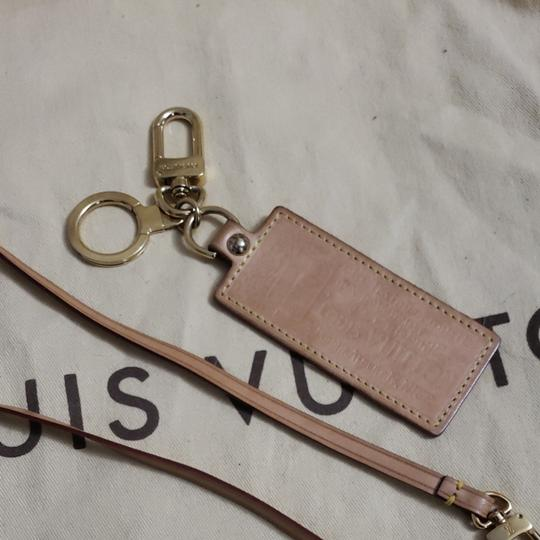 Louis Vuitton Auth Louis Vuitton Vachetta Strap & Bag Charm Image 1