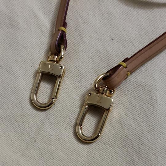 Louis Vuitton Auth Louis Vuitton Vachetta Strap & Bag Charm Image 11