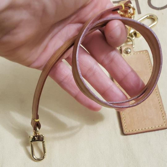 Louis Vuitton Auth Louis Vuitton Vachetta Strap & Bag Charm Image 8