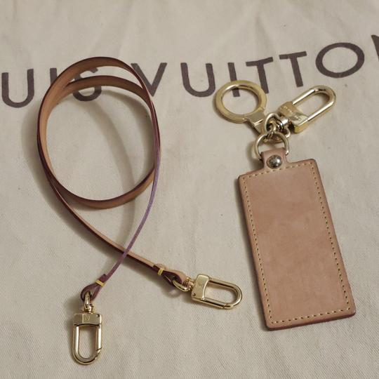 Louis Vuitton Auth Louis Vuitton Vachetta Strap & Bag Charm Image 9