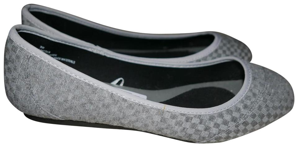a7548b740df Seychelles Grey Textured Fabric Ballet Flats Size US 9 Wide (C