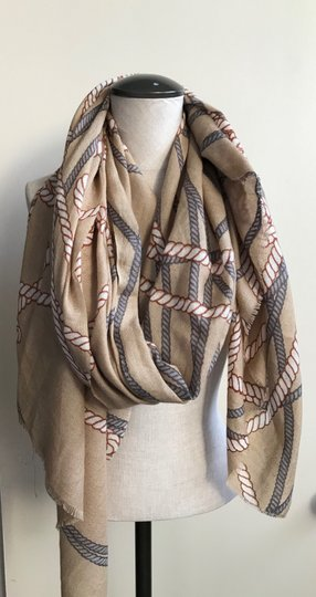 Unbranded Scarves & Wraps Three (3) With Multi-Colors Image 7
