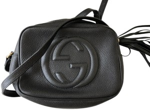 8b3eec431 Added to Shopping Bag. Gucci Cross Body Bag. Gucci Soho Disco with Receipt Black  Leather ...
