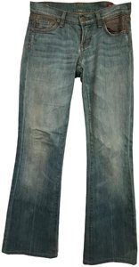 Citizens of Humanity Embroidered Copper Flare Leg Jeans-Light Wash