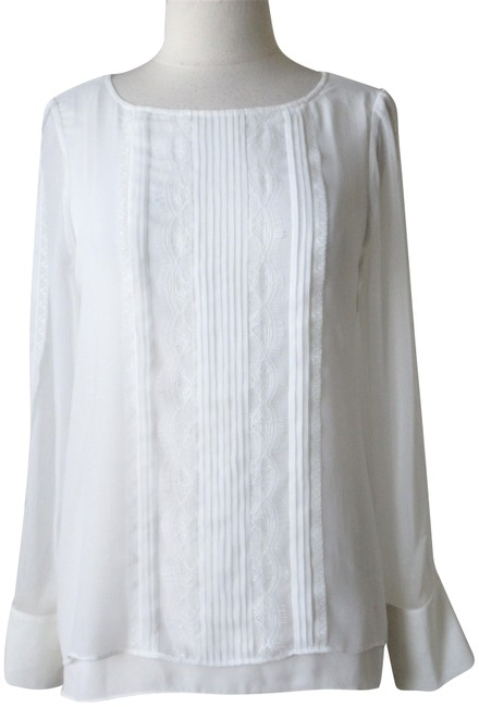 Preload https://img-static.tradesy.com/item/23873442/white-house-black-market-ecru-new-with-tags-double-layer-lace-pleated-tunic-blouse-size-12-l-0-1-650-650.jpg