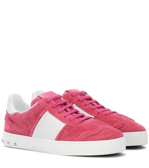 Item - Shadow Pink/White New Fly Crew Suede Low-top Sneakers Size US 8.5 Regular (M, B)