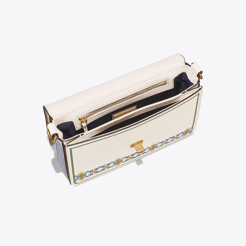 dbef7c902c4 Tory Burch Kira Floral Double-strap Ivory Meadow Folly Leather Shoulder Bag  - Tradesy