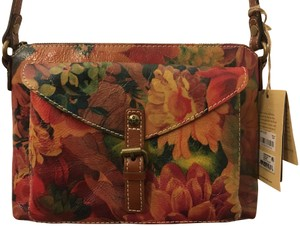 Patricia Nash Designs Vegetable-tanned Avellino Zip Top Leather Cross Body Bag